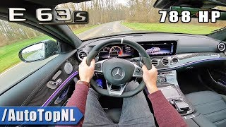 788HP Mercedes AMG E63 S 4Matic+ POV Test Drive by AutoTopNL