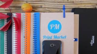 Ваш фирменный стиль - Эко блокнот А5 с ручкой. Печать вашего логотипа | PrintMarket(Ищите рекламную эко-продукцию для своего фирменного стиля? Думаете заказать эко-блокноты? А может лучше..., 2016-08-31T10:22:04.000Z)
