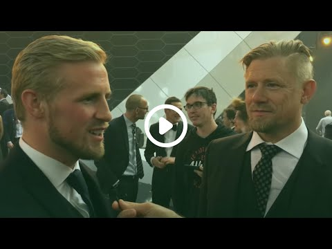 Eksklusivt interview med Kasper og Peter Schmeichel
