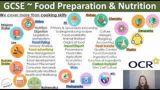 Food Preparation & Nutrition @ KS4 - 2021 Options
