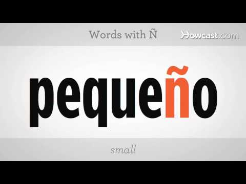 How to Say Ñ | Spanish Lessons