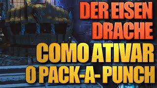 Der Eisendrache: Como ativar o PACK-A-PUNCH e ligar a Energia - Black Ops 3 Zombies