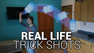 Real Life Trick Shots : Dude Perfect Parody
