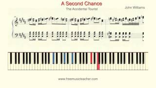 "How To Play Piano: The Accidental Tourist  ""A Second Chance""  John Williams"