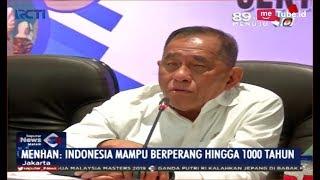 Bantah Pidato Prabowo, Menhan: Indonesia Mampu Perang hingga 1000 Tahun - SIM 16/01