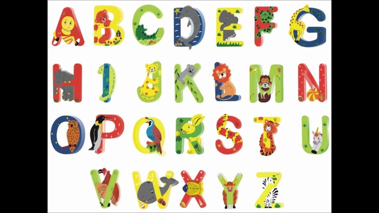 Abc Letter Animal Kids K1 Preschool