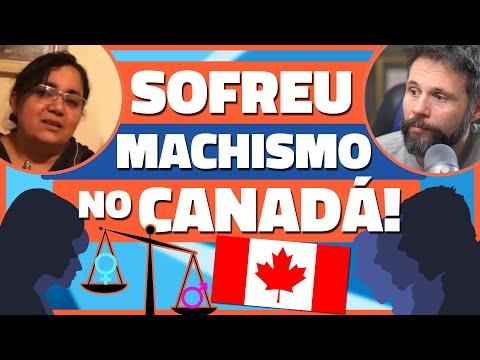 ELA SOFREU MACHISMO E NUNCA SE SENTIU EM CASA NO CANADÁ - História de Vida no Canadá