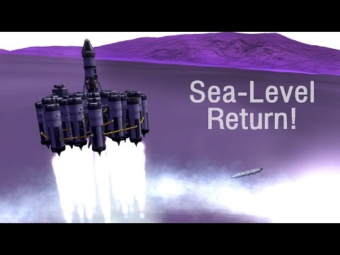 SEA LEVEL Eve Lander - KSP 1.04
