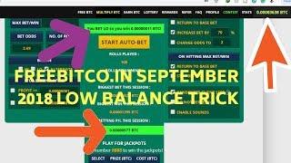 freebitco in tricks 2018 low balance VIZION LV