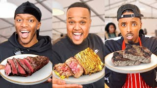 £10 VS £1000 STEAK ft KSI & AJ