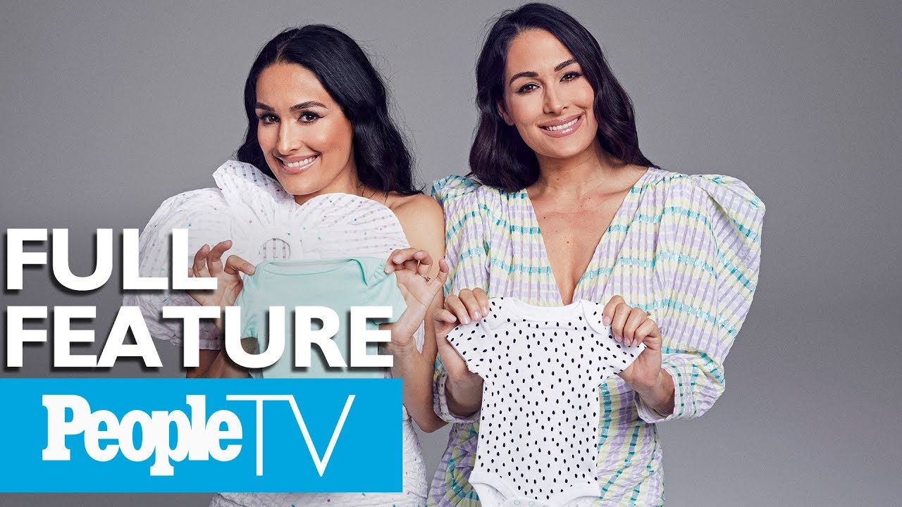 WWE twins Nikki Bella and Brie Bella are both pregnant