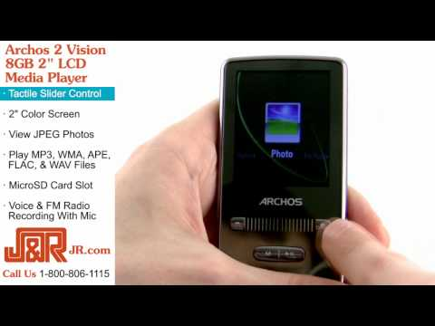 Archos 2 Vision 8GB Media Player -- Review