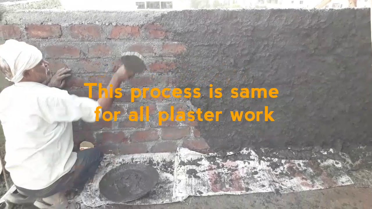 PLASTER work for PARAPET WALL | CEMENT MORTAR | Finishing | Height of wall  | WATERPROOFING
