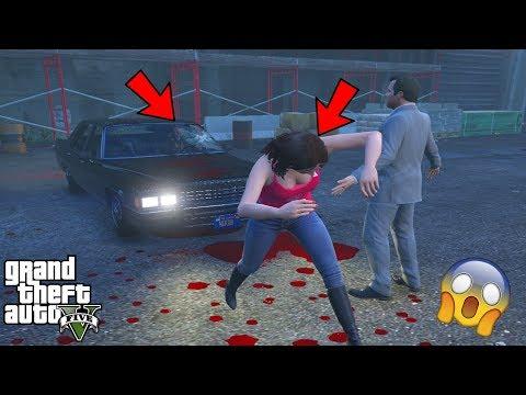 GTA 5 - Amanda Saw NIKO BELLIC'S GHOST Car and This Happened