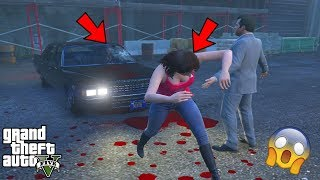 GTA 5 - Amanda Saw NIKO BELLIC'S GHOST Car and This Happened