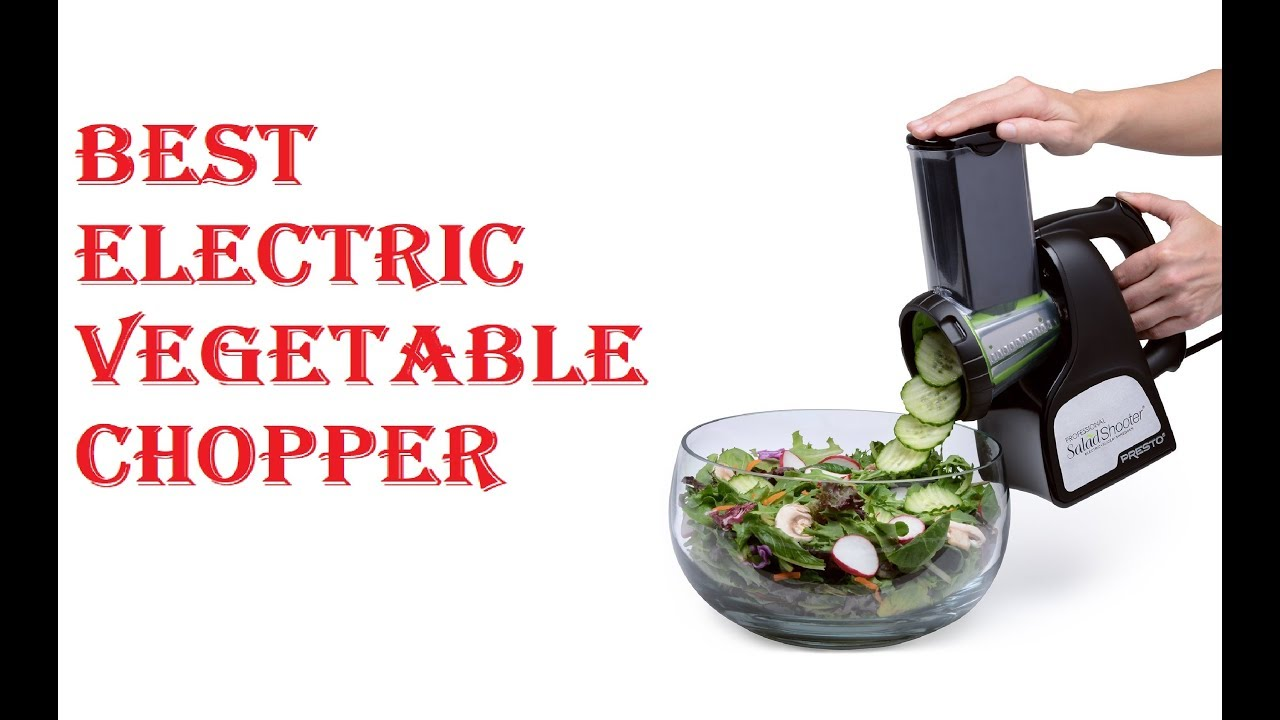Best Electric Vegetable Chopper 2019 Youtube