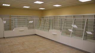 Мебель для аптеки на заказ. Обзор№8. Торговое оборудование для аптек. Аптечная мебель в Киеве.