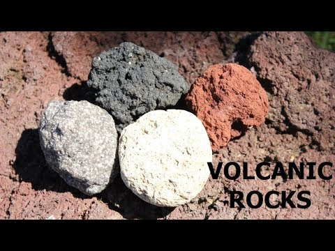 Types of Rocks made by Volcanic Eruptions (Part 3 of 6)