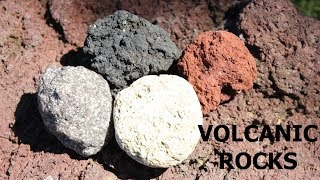 What Types of Rock are made by Volcanic Eruptions? (Part 3 of 6)