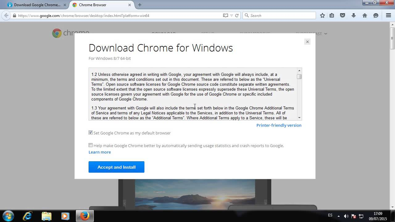 google chrome download 64 bit windows 10