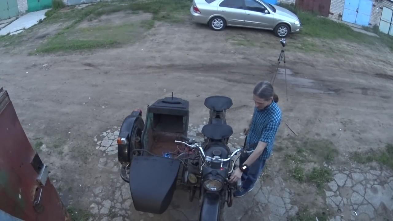 Инжектор на мотоцикл Урал 650. 4 серия. Поехали! - YouTube