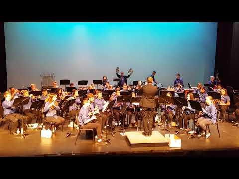 GW Graham Senior Concert Band - Godzilla Eats Las Vegas!