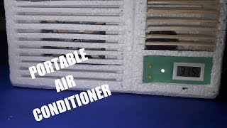 Homemade Air Conditioner DIY - Simple Portable AC at Home