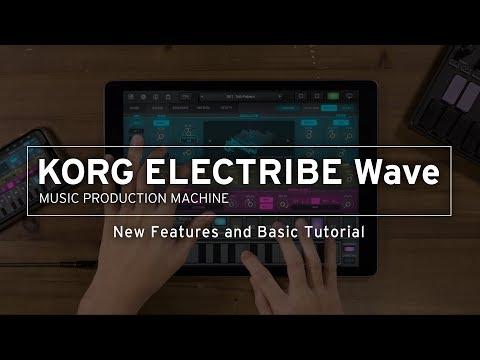 KORG ELECTRIBE Wave - MUSIC PRODUCTION MACHINE   KORG (USA)
