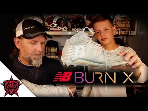 7ec35272a5e4 New Balance Burn X Lacrosse Cleats - Review - YouTube