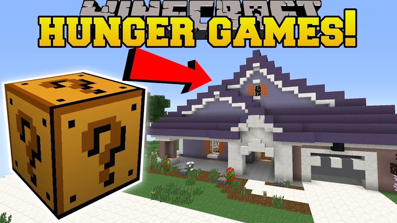 Minecraft PAT Amp JENS REAL HOME HUNGER GAMES Lucky