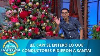 ¿Qué pidieron los conductores a Santa?|Programa del 23 de diciembre de 2019 PARTE 1|Venga La Alegría
