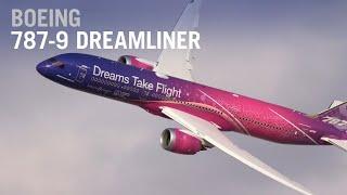 Boeing  S 787 9 Dreamliner Flies At The