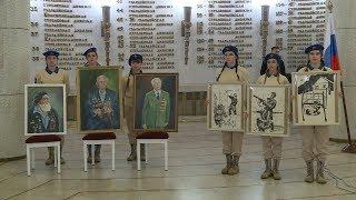 Волгоград получил в дар картины от участников проекта «Война на холсте – как память поколений»