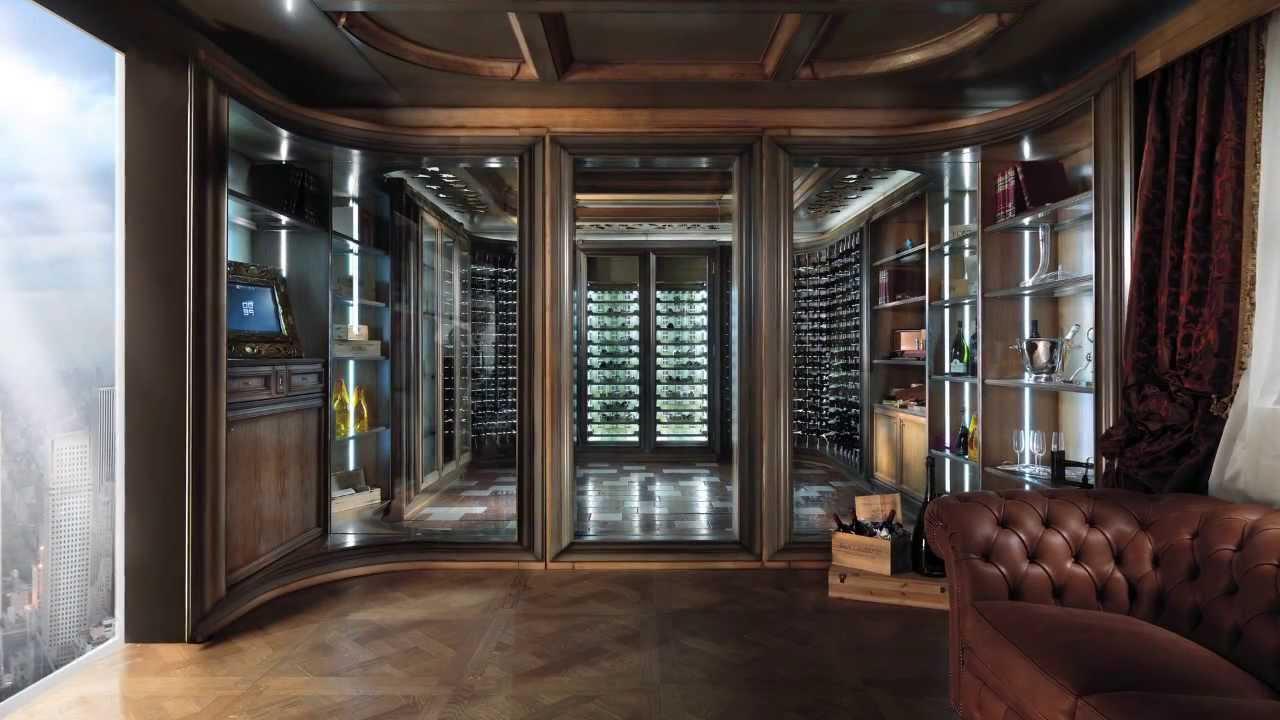 0039 luxury italian projects i w c interactive wine for Luxury home wine cellars