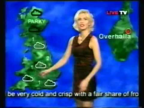 L!ve tv Weather in Norwegian with Anne Marie Foss
