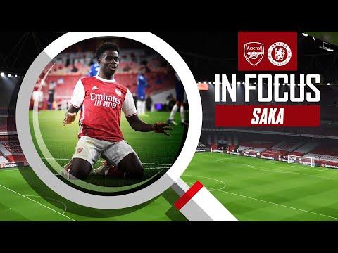 🌶 Bukayo Saka | Every Touch | Arsenal vs Chelsea (3-1)