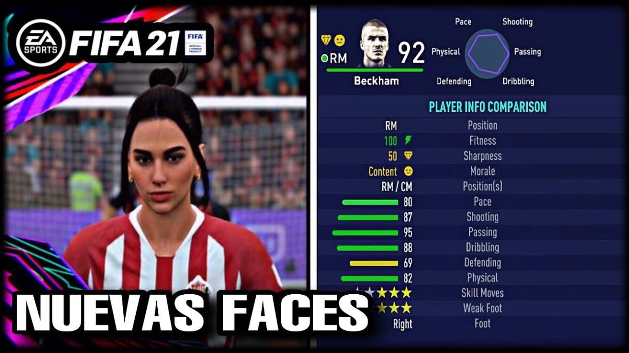 DAVID BECKHAM EN FIFA 21   +45 NUEVAS FACES