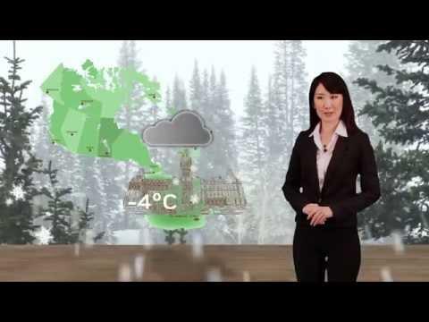 Weather Forecast Animation By Aya Ito