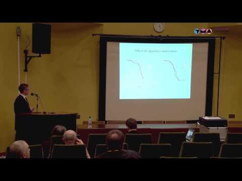 Mikhail Shaposhnikov, 2nd International Conference  «Genetics of Aging and Longevity»