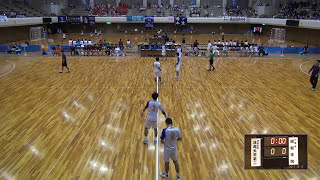 8日 ハンドボール男子 あづま総合体育館 Aコート 法政二×昭和学院 準々決勝 1