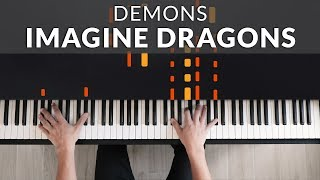 Download lagu Imagine Dragons - Demons Tutorial | Tutorial of my Piano Cover + Sheet Music