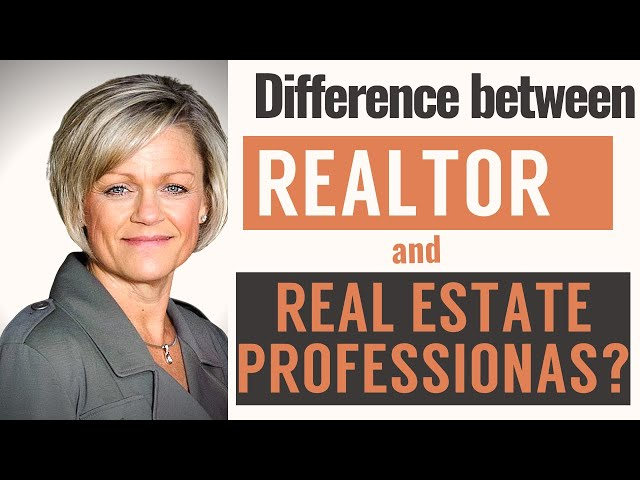 What's the difference between a Realtor and a Real Estate Professional? | Christy Trotter
