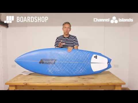 Channel Islands Twin Fin Surfboard Review