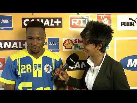 21EME JOURNÉE LIGUE1 IVOIRIENNE AFRICA SPORTS VS SPORTING CLUB GAGNOA 15/04/2018