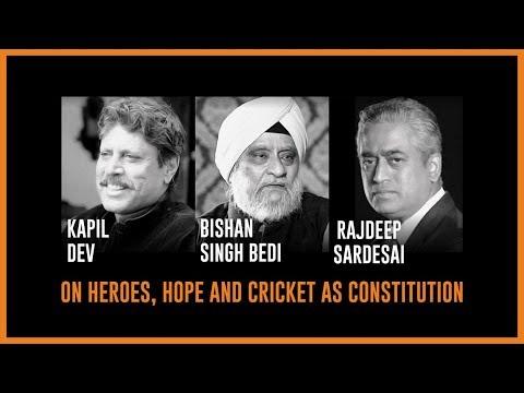 Bishan Singh Bedi , Kapil Dev, & Rajdeep Sardesai @Algebra