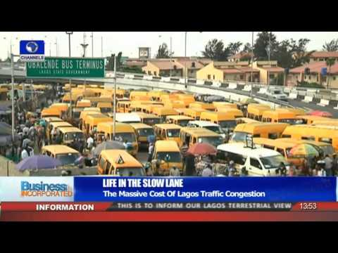 Business Incorporated: The Massive Cost Of Lagos Traffic Congestion 21/12/15 Pt.3