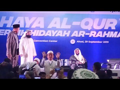Rahman Ya Rahman Qalby Muhammad Syeikh Mishary Rashid Alafasy Live In Jakarta 29 09 2019