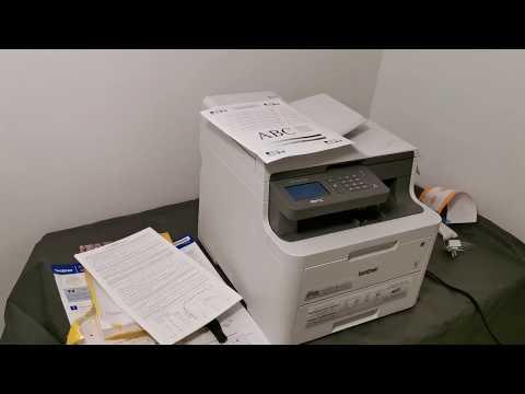 Цветной Принтер Brother, первый запуск, обзор. Модель MFC-L3710CW