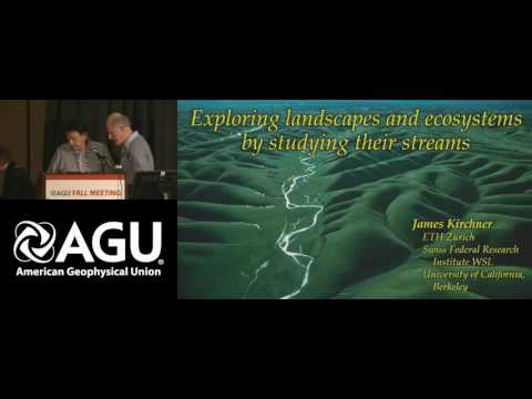 Fall Meeting 2016: Hydrology Awards and Walter B. Langbein Lecture