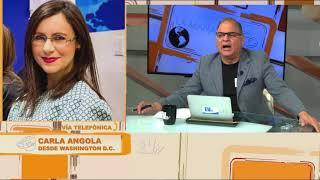 Carla Angola: La #OEA va a dar una gran sorpresa #LaMañanaEVTV SEG 04
